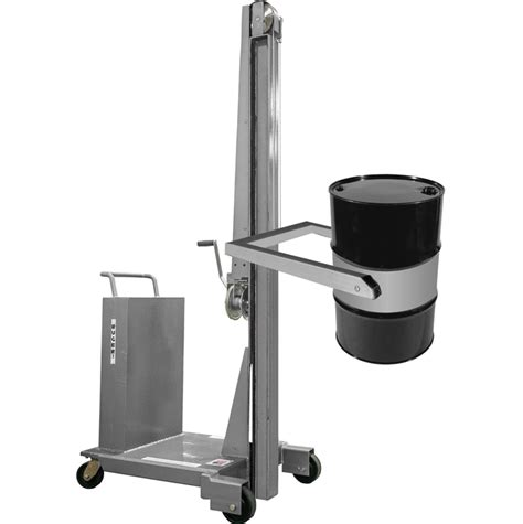 Drum Stacker stainless steel drum stacker for cleanrooms i straddle or