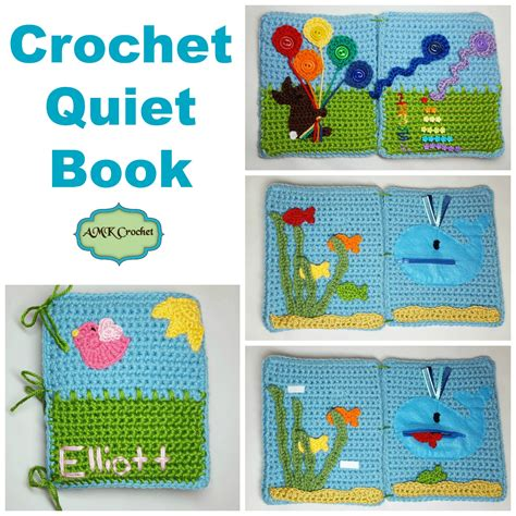 soft quiet book pattern crochet tips tricks photo tutorials and crochet patterns