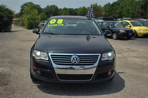 volkswagen passat black 2008 volkswagen passat black used sports car sedan sale