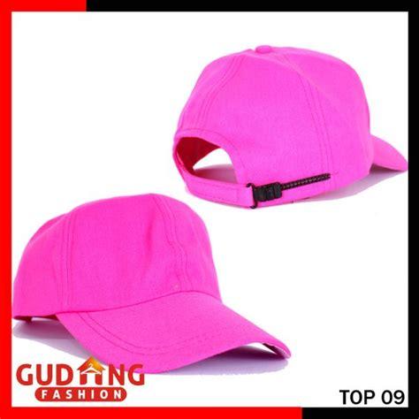 Topi Baseball Keren Top 11 topi baseball cap polos katun twill merah muda top 09