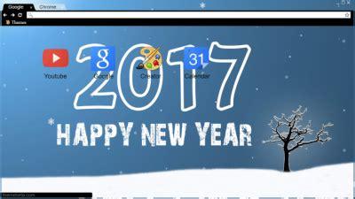 themes google chrome happy new year party chrome themes themebeta