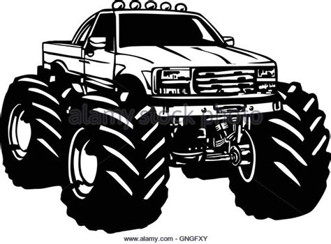 bigfoot monster truck cartoon bigfoot truck stock photos bigfoot truck stock images