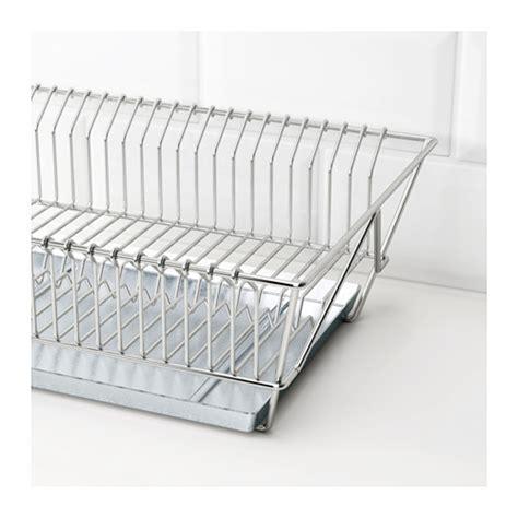 ikea dish rack fintorp dish drainer nickel plated 37 5x29x13 5 cm ikea