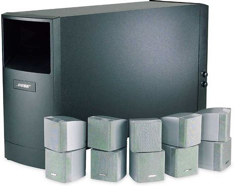 bose 174 acoustimass 174 15 series ii silver satellites black