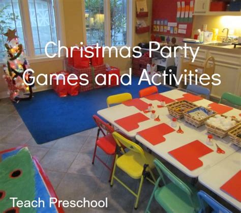 preschool christmas party ideas for preschoolers teach preschool
