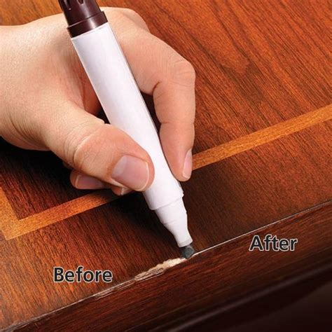 home depot touch up paint pen here s how to remove scratches from wood furniture