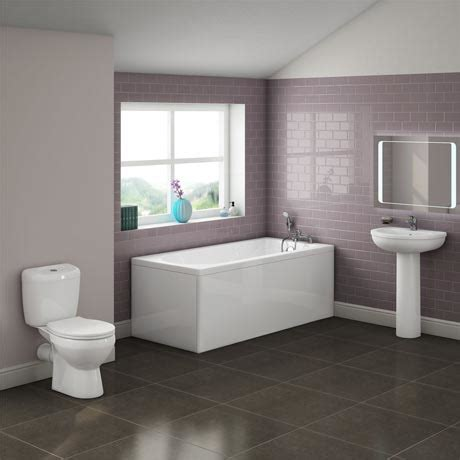 b q bathroom suite 199 barmby 5 piece 1th bathroom suite at victorian plumbing uk