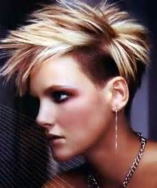 Galerry undercut spiky hairstyle