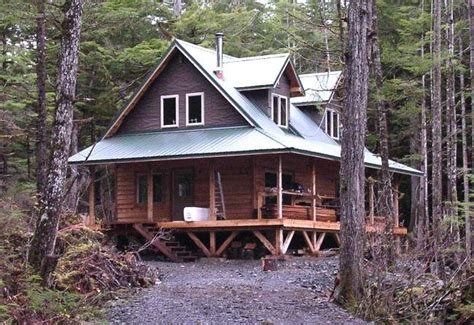Two Storey Cabin by Alaska 1 1 2 Story Cabin For The Home