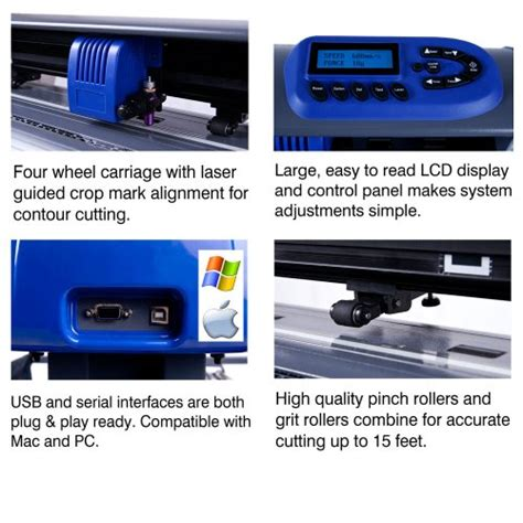 15 Inch Vinyl Cutter by 15 Inch Uscutter Table Titan Craft Vinyl Cutter With