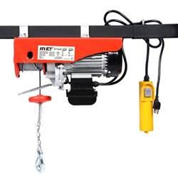 880lbs mini electric wire hoist remote garage auto shop overhead lift ebay
