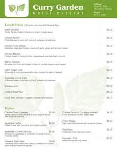 Backyard Grill Lunch Menu Lunch Menu Curry Garden Hornby Indian Restaurant