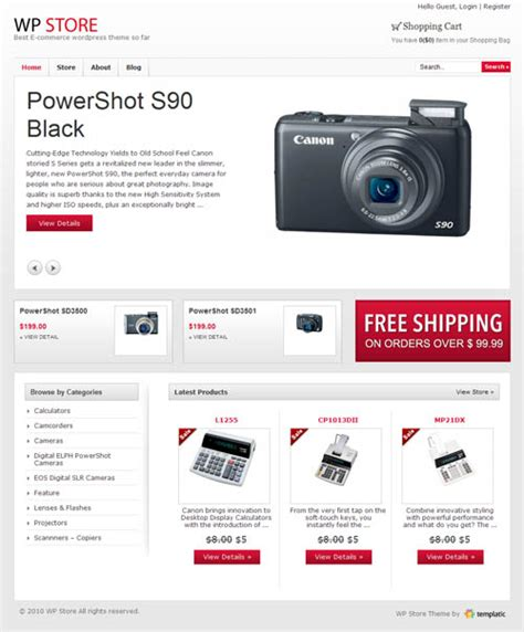 Wordpress Themes Hardware Store | wp store ecommerce wordpress theme