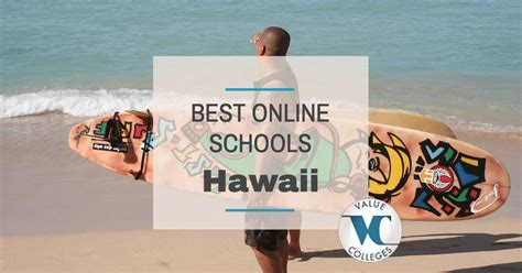 Best Mba Programs In Hawaii by Top 5 Best Colleges In Hawai I Value Colleges