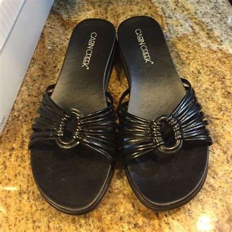 cabin creek sandals 70 cabin creek shoes cabin creek sandals sz 7 euc
