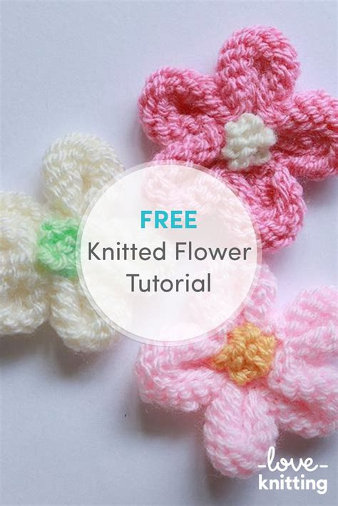 how to knit a flower for a baby hat 25 best ideas about knit flowers on crochet