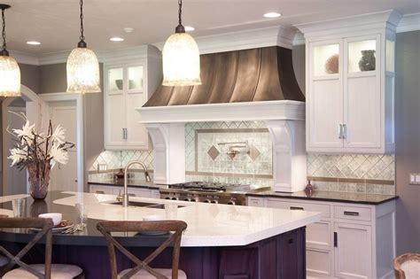 Kitchen Cabinet Backsplash Ideas by Restoration Hardware Style Home Transitional Kitchen