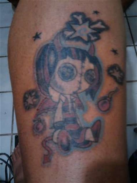 rag doll tattoo evil rag doll