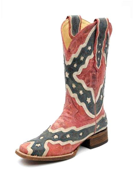 confederate flag boots corral s rebel flag boot a1177 from country outfitter