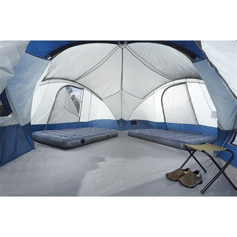 ozark trail agadez 20 person 10 room tunnel tent ozark trail agadez room tunnel tent ozark trail agadez room tunnel tent polyvore ozark trail