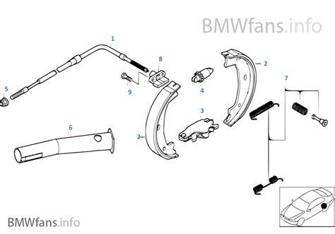 1er Bmw Bremsen Wechseln Preis by Feststellbremse Bremsbacken Bmw 3 E46 M3 Csl S54 Europa