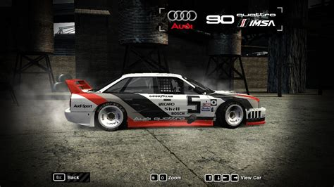 audi imsa gto felgen need for speed most wanted audi 90 quattro imsa gto nfscars