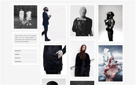 tumblr themes effects alumia elegant tiled based theme zen themes