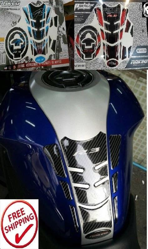 Tank Grip Traction Pad Yamaha R25 Mt25 yamaha r3 mt03 tank pad fuel protection sticker set tankpad gas fairings ebay