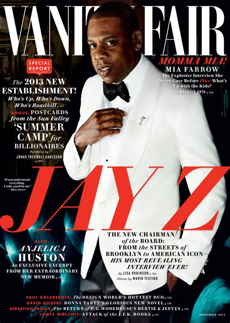 Vanity Fair Soundtrack by Z Covers Vanity Fair November Issue This Is His Most