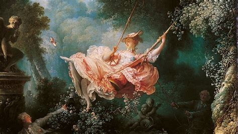 fragonard the swing 1767 rococo the height of flamboyancy