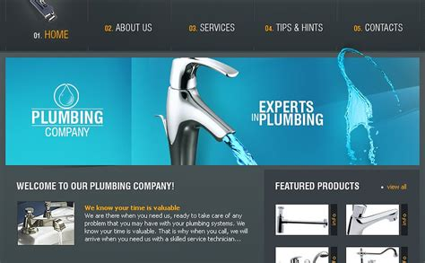 Plumbing Answers by Plumbing Website Template 11753
