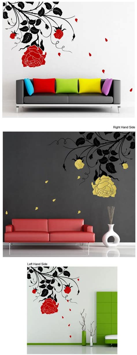 Stickers For Baby Room Walls rose wall stickers art pinterest wall sticker walls