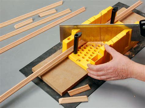 cornici legno fai da te cassetta tagliacornici bricoportale fai da te e bricolage