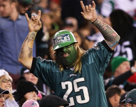 philadelphia eagles fan inside the iggles wishes philadelphia eagles fans a