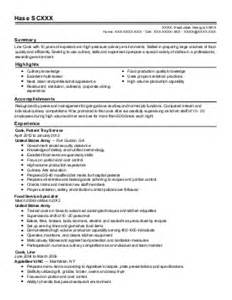 Concessions Manager Sle Resume by Manager Resume Exle Cascade Concessions Portland Oregon