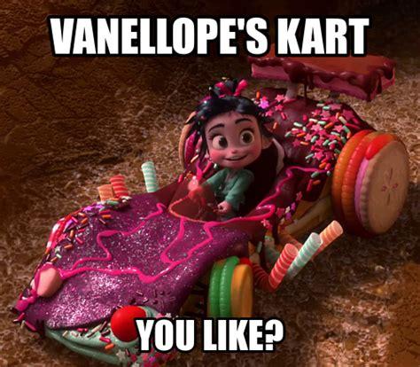 Vanellope Von Schweetz Meme - princess vanellope vo on pinterest princesses costume