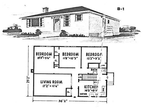 1940 House Plans by Bungalow House Plans From 1940s 1940 Bungalow House Plans