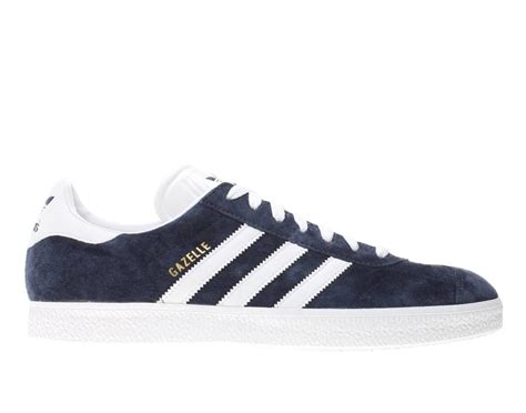 adidas gazelle 2 034581 marine blue running white suede casual athletic shoe ebay