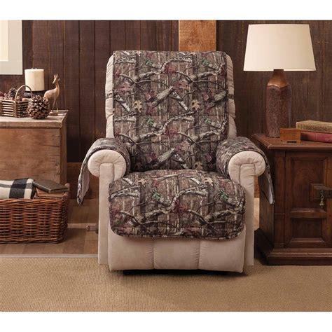 furniture mossy oak recliner  added appeal  comfort