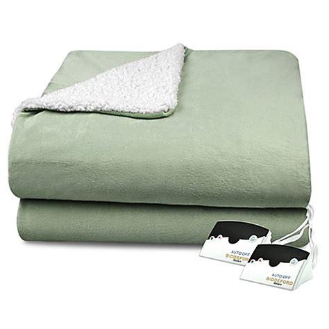 Where To Buy Heated Blankets by Buy Biddeford 174 Heated Micro Mink Sherpa Blanket In