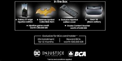 Harga Samsung S7 Versi Batman galaxy s7 edisi batman sudah bisa dipesan di indonesia