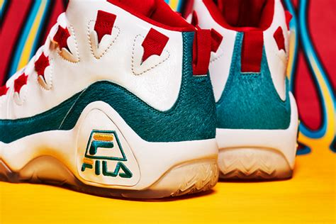 mr alan s shoes fila and mr alan s unveil limited edition 95 sneaker