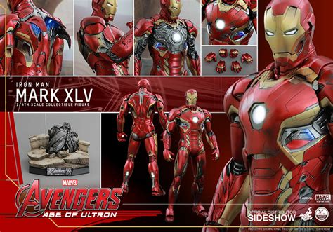 Toys Iron Xlvi Cosbaby L Original marvel iron xlv quarter scale figure by toys sideshow collectibles