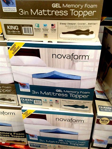 Sleep Innovations Costco Mattress by Sleep Innovations Novaform Memory Foam Topper At Costco