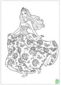 barbie princess coloring az coloring pages