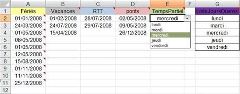 format excel jour de la semaine utiliser les fonctions date et heure sous excel 2007