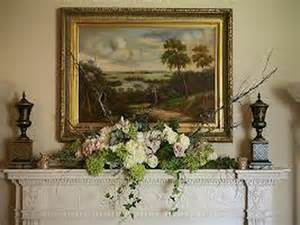how to repairs how to decorating mantel floral