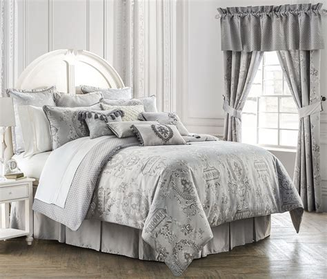 waterford comforters whitney platinum by waterford luxury bedding