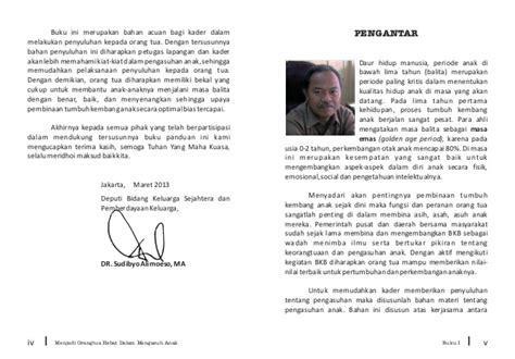 Perkembangan Anak Usia Dini Pengantar Berbagai Aspek Ahmad Susanto panduan menjadi orang tua hebat buku ke 1 bina keluarga balita