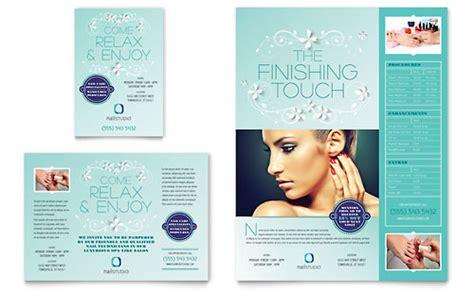 beauty nail salon print ad templates health beauty
